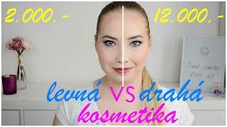 LEVNÁ vs DRAHÁ kosmetika CHALLENGE! Která obstojí ve zkoušce?! | Markéta Venená