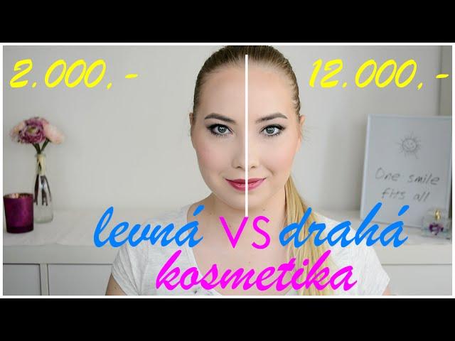 LEVNÁ vs DRAHÁ kosmetika CHALLENGE! Která obstojí ve zkoušce?!   Markéta Venená