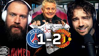 Reacting to PSG 1-2 Man Utd