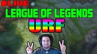 URF LETS PLAY :) 2017   Ultra Rapid Fire Game Mode   LEAGUE OF LEGENDS   KOBE LOL   8-22-2017