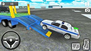 Multi Trailer Car Transporter Truck Driving Simulator 2021 - Android Gameplay screenshot 5