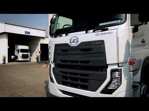 ยูดี ทรัคส์ - ส่งมอบรถบรรทุก เควสเตอร์ คันแรกของโลก