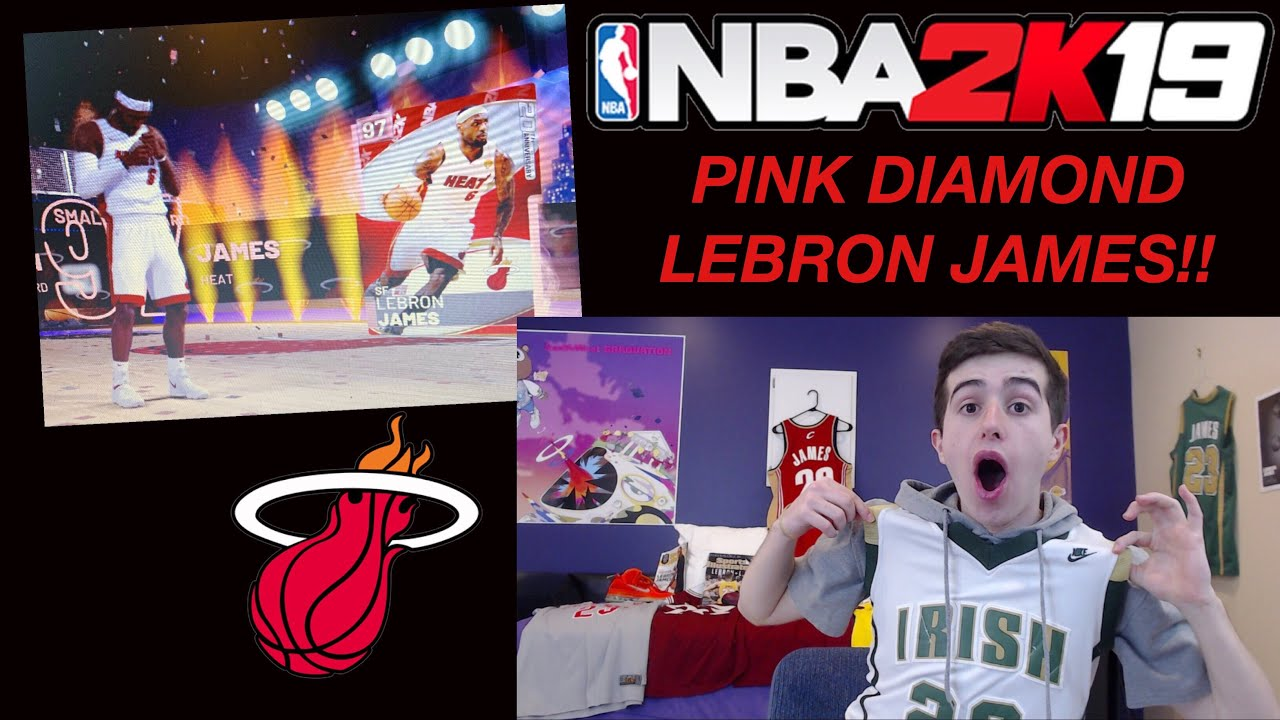 d6af346ddb06 I SPENT MY BANK ACCOUNT ON PINK DIAMOND LEBRON!! HUGE PACK OPENING! NBA  2K19 MYTEAM