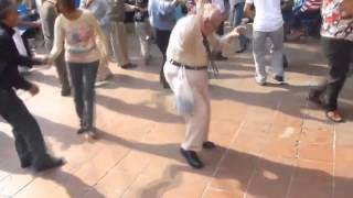 Drop The Beat Drop The Cane - Old Man Dancing Vine