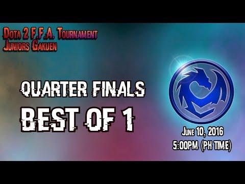 [Eng/Fil]TGOOK PH Dota 2 FFA Tournament - Juniors Gakuen (Quarter Finals)