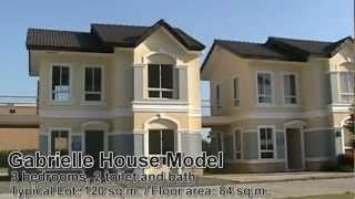 AFFORDABLE HOUSE AND LOT FOR SALE IN CAVITE NEAR MANILA GABRIELLE HOUSE MODEL AT LANCASTER NEW CITY