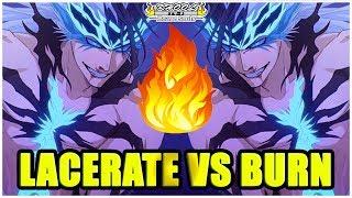 LACERATE VS BURN EFFECT A QUICK OBSERVATION Bleach Brave Souls