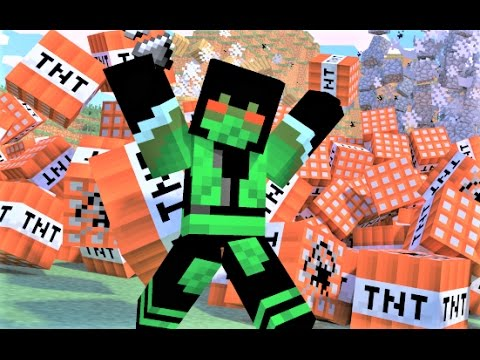 "Minecraft Song and Minecraft Animation: ""My TNT"" Minecraft Song and Music Video by Minecraft Jams"