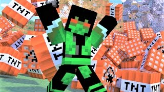 "Minecraft Song. ""My TNT"".  Minecraft Song and Music Video"