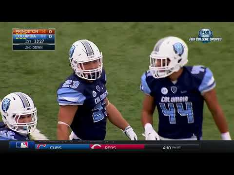Princeton Tigers vs Columbia Lions football 2016 Full game