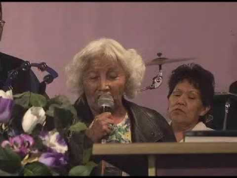 75 year old Navajo Gospel singer