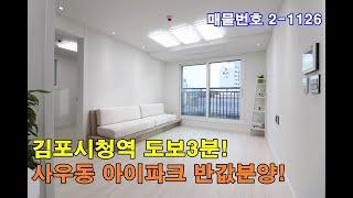 김포신축빌라분양 33평 김포시청역 도보3분+사우초교 도…