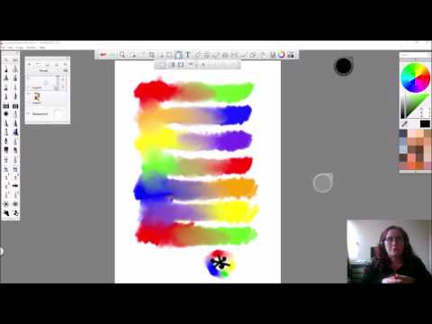 Digital Complementary Color mixing for the Absolute Beginner- soft slow voice
