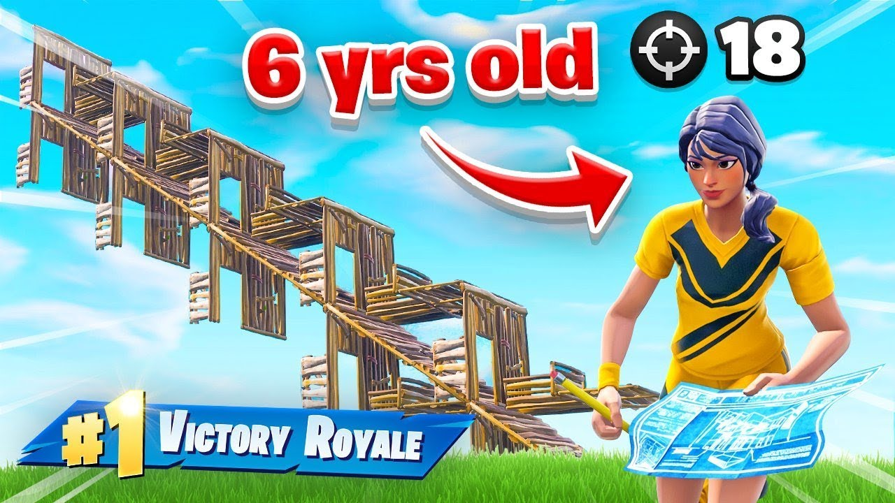 This 6yr Old Is Better Than Ninja At Fortnite Battle Royale