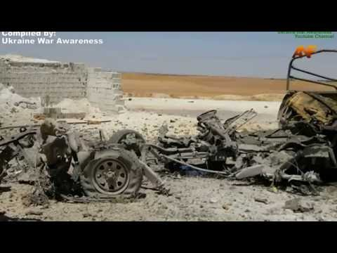 Syria RAW: Battle of Manbij ISIS Stronghold. SDF + US Coalition Vs. ISIS, July 2016.