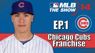 MLB 14 The Show- Chicago Cubs Franchise- Introduction (Ep.1)