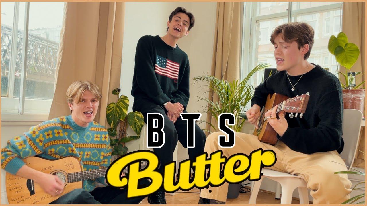 BTS (방탄소년단) 'Butter' (New Hope Club Cover)