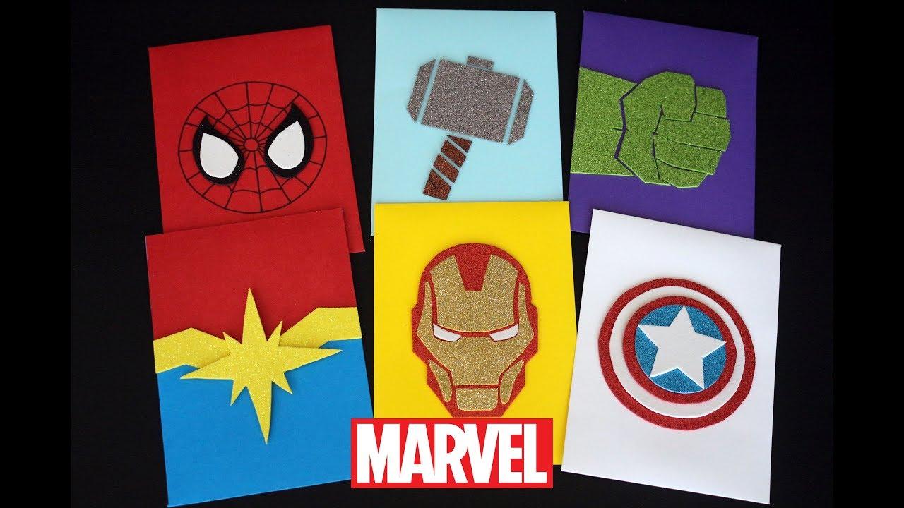 Diy Tarjetas De Avengers Endgame