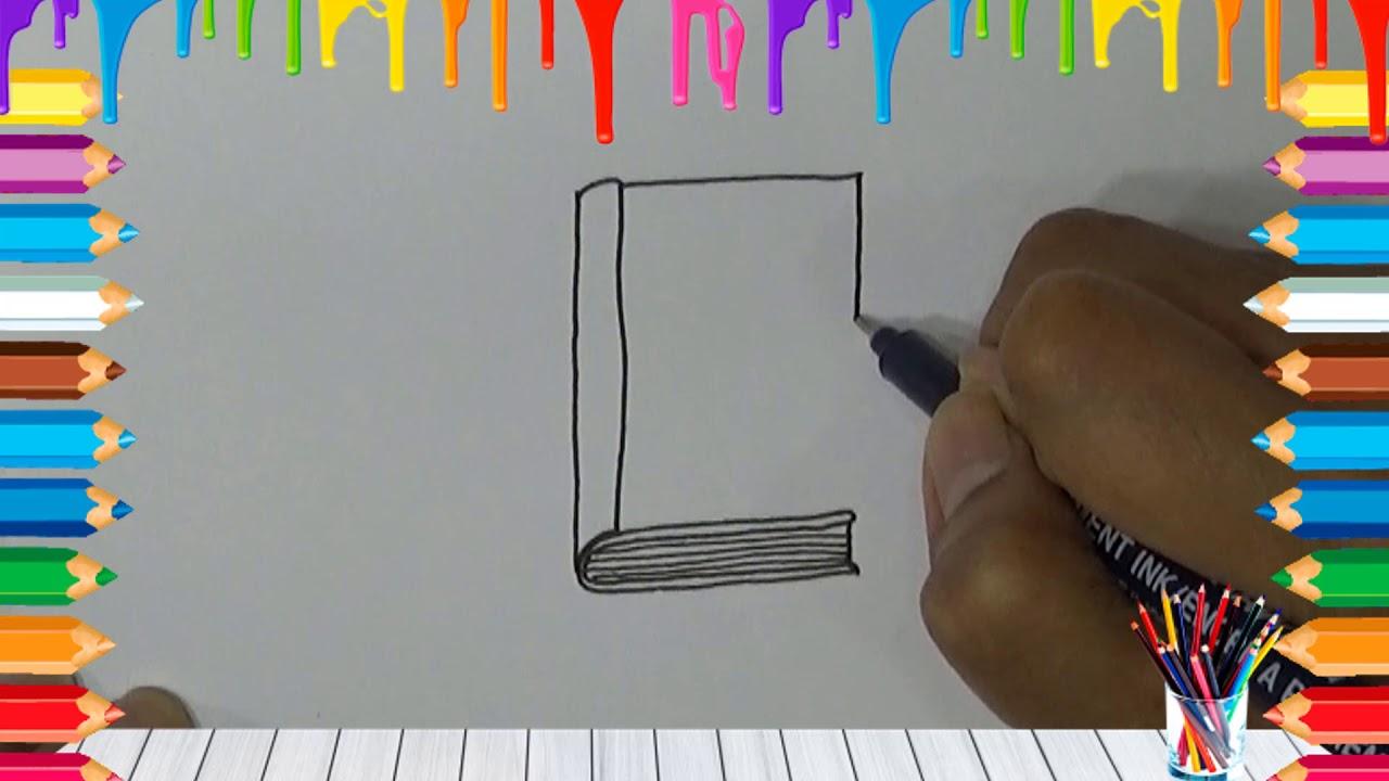 Belajar Cara Menggambar Buku Dengan Mudah – Okuta Marketing Blog