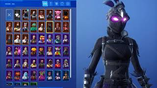 All my Fortnite skins:D (Kriste!)
