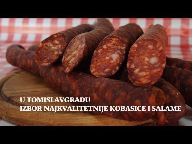 U Tomislavgradu izbor najkvalitetnije kobasice i salame