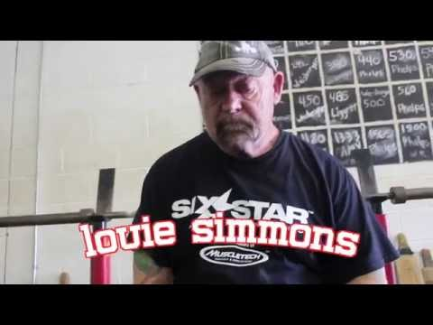 LOUIE SIMMONS | BANDS, ACCESSORIES, WESTSIDE FOR RAW LIFTERS, CIRCA MAX & 2hr VS 24hr WEIGH-IN