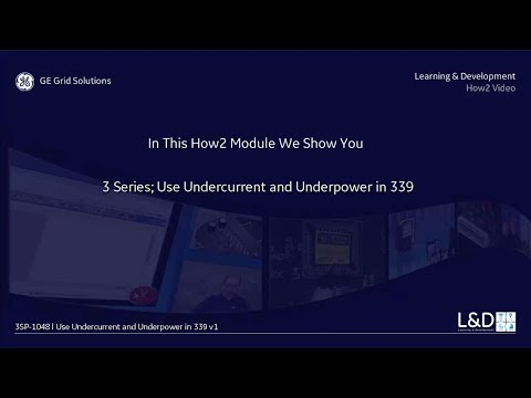 3SP-1048 l Use Undercurrent and Underpower in 339 v1