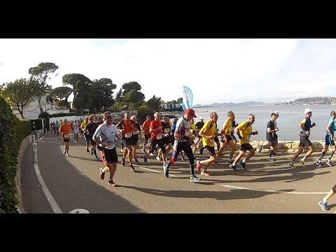 Marathon Nice Cannes 2016 passage 30Km 10h55