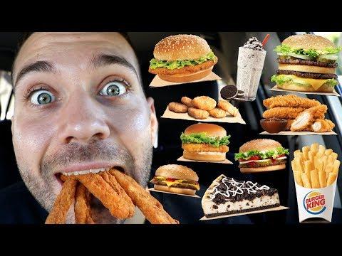 Hi My Name Is Joe and I Never Had Burger King (MUKBANG)