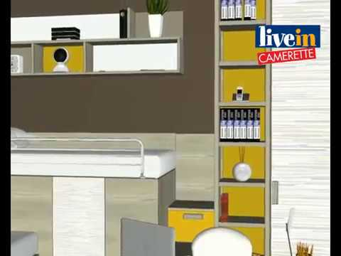 Progetto cabina armadio per cameretta in 3d youtube - Cabina armadio per cameretta ...