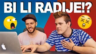 STALNO PRDITI ILI PODRIGIVATI?! 😂 Would You Rather Challenge (with Piko)