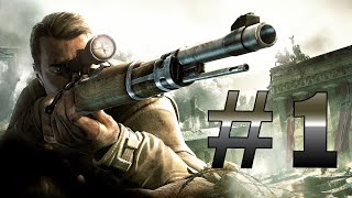 Sniper Elite V2 Remastered Walkthrough (No Commentary) Part 1 (1080p 60 FPS)