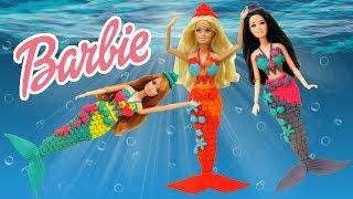 Play Doh Barbie Midge Raquelle Mermaids ( Barbie Life in The Dreamhouse)  Play-Doh Craft N Toys
