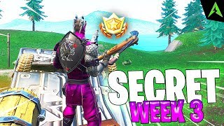 Star Secret - SEMAINE 3 - Saison 9 à Fortnite.