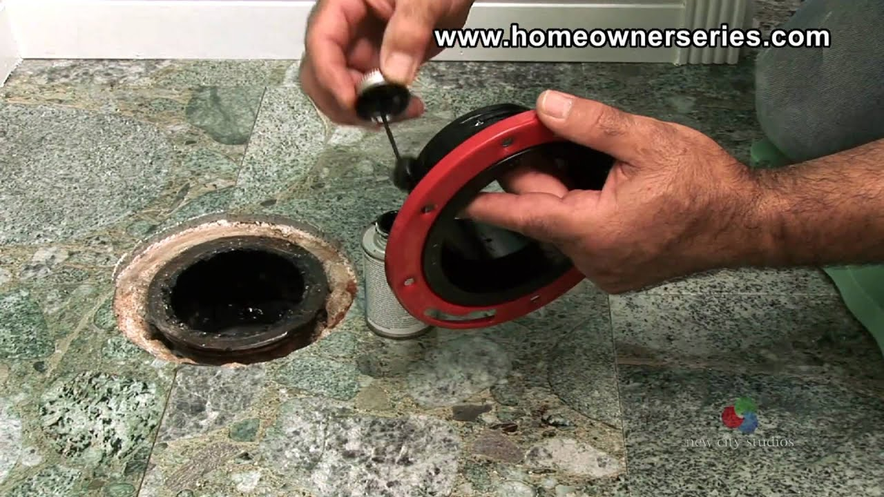 How to Fix a Toilet - Cement Sub-Flooring Repairs - Part 1 of 2 ...