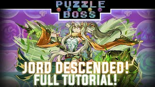 Jord Descended! - Full Tutorial! - Puzzle & Dragons - パズドラ