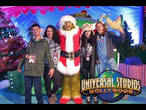 NBC Universal Studios Christmas Party! 2017