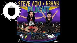 Steve Aoki & R3hab - Flight (Cover Art)