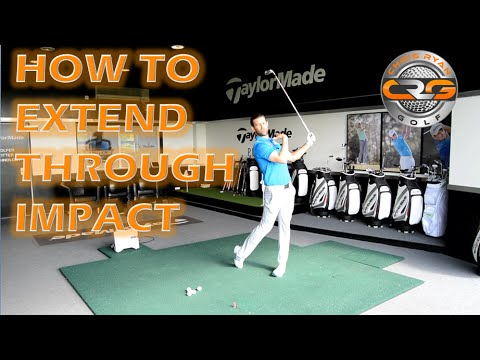 GOLF | HOW TO EXTEND THROUGH IMPACT