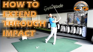 GOLF   HOW TO EXTEND THROUGH IMPACT