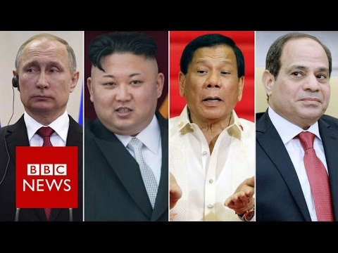 Why does President Trump admire strongmen leaders BBC News