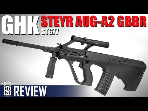 *Airsoft Review *  GHK AUG A1 - STG77 | English Subtitles - Deutsch