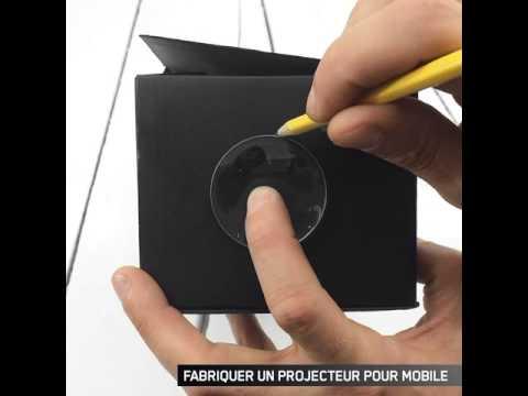 Usage pratique cr er son propre projecteur pour mobile - Faire son propre dressing ...