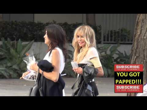 Dyan Cannon arrives to Lakers vs per Game st Staples Center