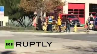 """USA: """"Active scene"""" remains as mass shooting hits San Bernardino"""