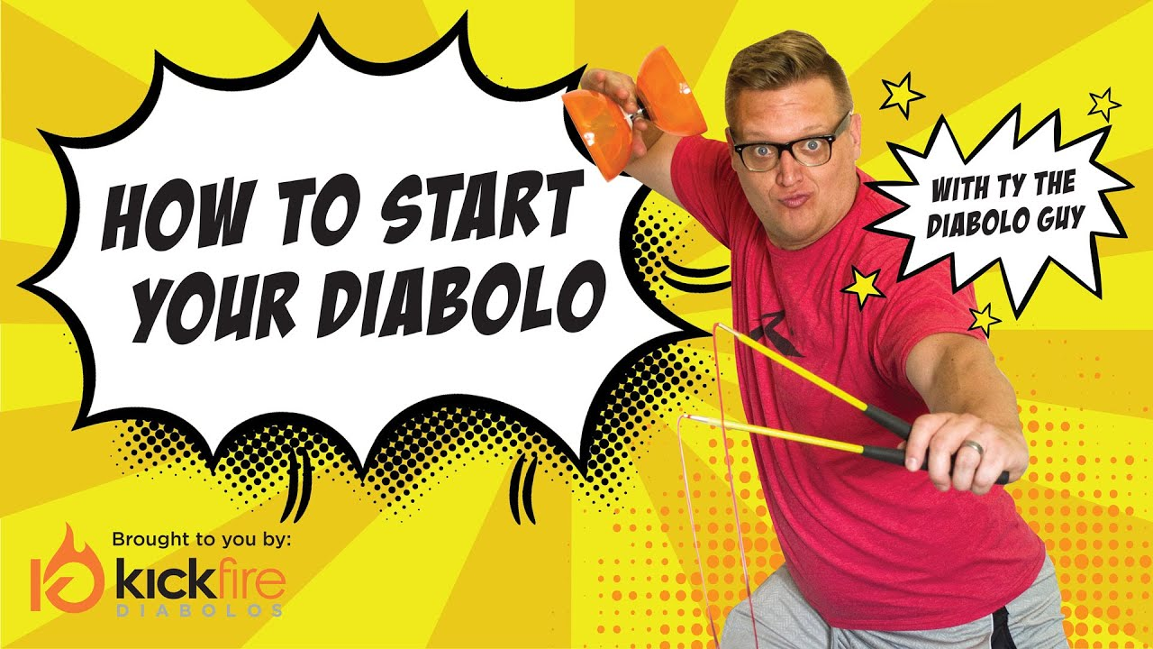 How to Start Your Diabolo - Diabolo Tricks For Beginners ...