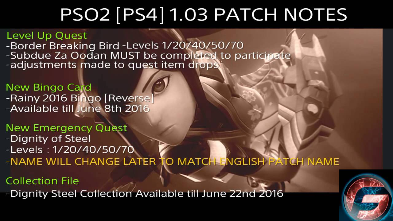 Pso2 English Patch For Ps4