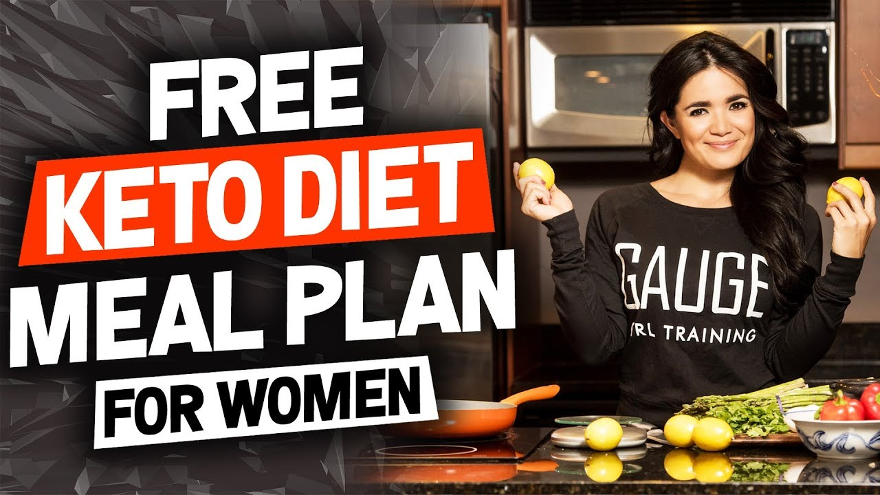 Free Keto Diet Meal Plan For Women Female Weight Loss Diet Youtube