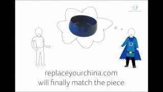Replace your china - Discontinued tableware replacement service