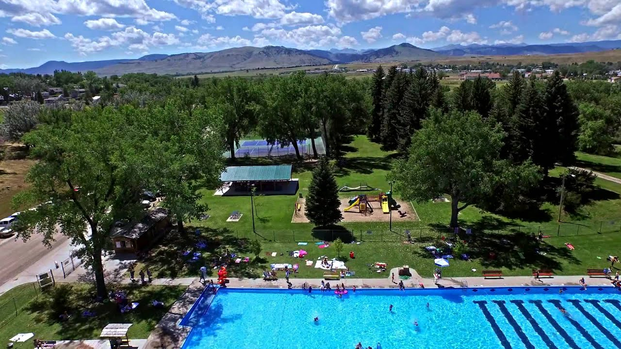 Wyoming 39 S Largest Swimming Pool The Buffalo City Pool Youtube